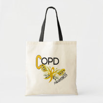 COPD Butterfly 3.1 Awareness Tote Bag