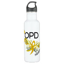 COPD Butterfly 3.1 Awareness Water Bottle