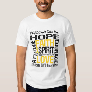 COPD Can't Take My Hope T-Shirt