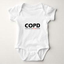 COPD - Chronic Obsessive Papillon Disorder Baby Bodysuit