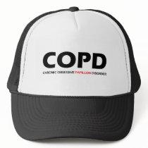 COPD - Chronic Obsessive Papillon Disorder Trucker Hat