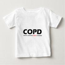 COPD - Chronic Obsessive Parrot Disorder Baby T-Shirt