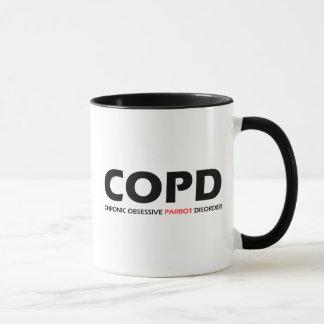 COPD - Chronic Obsessive Parrot Disorder Mug