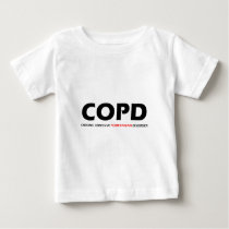 COPD - Chronic Obsessive Pomeranian Disorder Baby T-Shirt