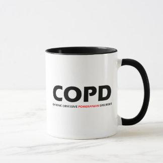 COPD - Chronic Obsessive Pomeranian Disorder Mug
