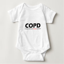 COPD - Chronic Obsessive Poodle Disorder Baby Bodysuit