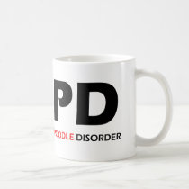 COPD - Chronic Obsessive Poodle Disorder Coffee Mug