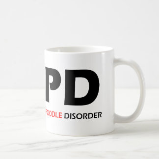 COPD - Chronic Obsessive Poodle Disorder Coffee Mug
