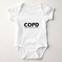 COPD - Chronic Obsessive Pug Disorder Baby Bodysuit