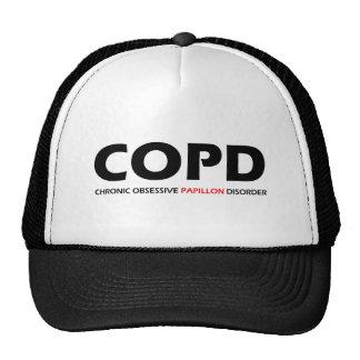 COPD - Desorden obsesivo crónico de Papillon Gorros Bordados