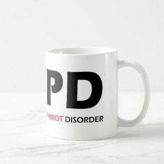 COPD - Desorden obsesivo crónico del loro Taza Clásica