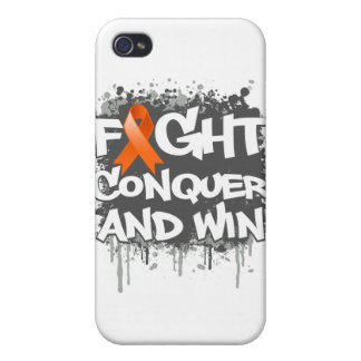 COPD Fight Conquer and Win iPhone 4/4S Cases