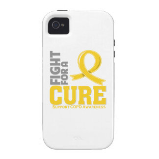 COPD Fight For A Cure Vibe iPhone 4 Covers