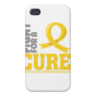 COPD Fight For A Cure iPhone 4 Case