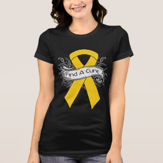 COPD Find A Cure Ribbon v2 Shirt