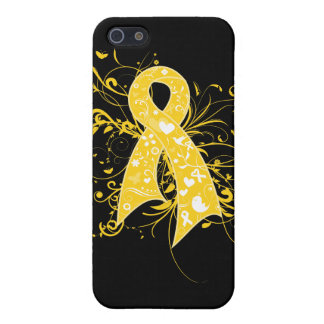 COPD Floral Swirls Ribbon Covers For iPhone 5