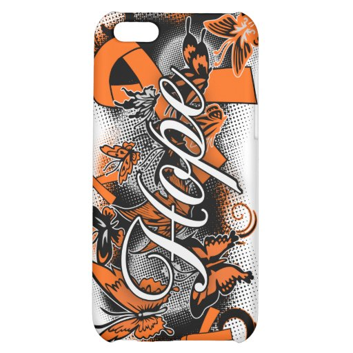 COPD Hope Garden Ribbon Cover For iPhone 5C