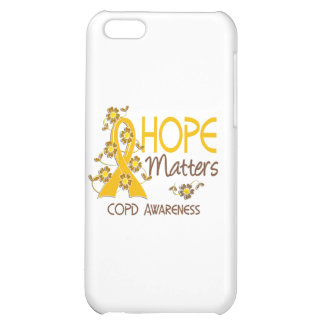 COPD Hope Matters 3 iPhone 5C Covers