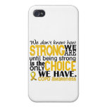 COPD How Strong We Are Covers For iPhone 4
