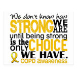 COPD How Strong We Are Postcard