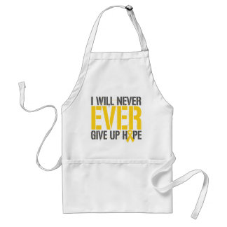 COPD I Will Never Ever Give Up Hope Adult Apron