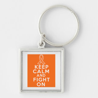 COPD Keep Calm and Fight On Keychains