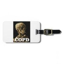COPD kills Bag Tag
