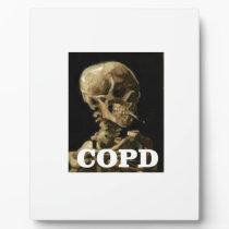 COPD kills Plaque