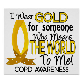 COPD Means World To Me 1 Poster