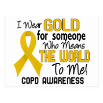 COPD Means World To Me 2 Postcard