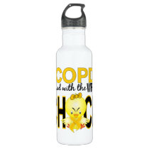 COPD Messed With The Wrong Chick 1 Stainless Steel Water Bottle