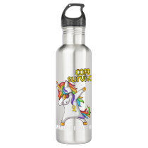 COPD Survivor Stand-Fight-Win Stainless Steel Water Bottle
