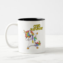 COPD Survivor Stand-Fight-Win Two-Tone Coffee Mug