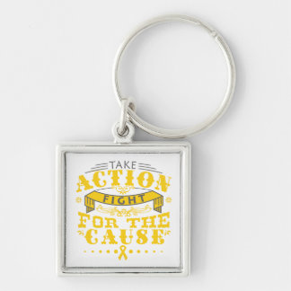 COPD Take Action Fight For The Cause Keychain
