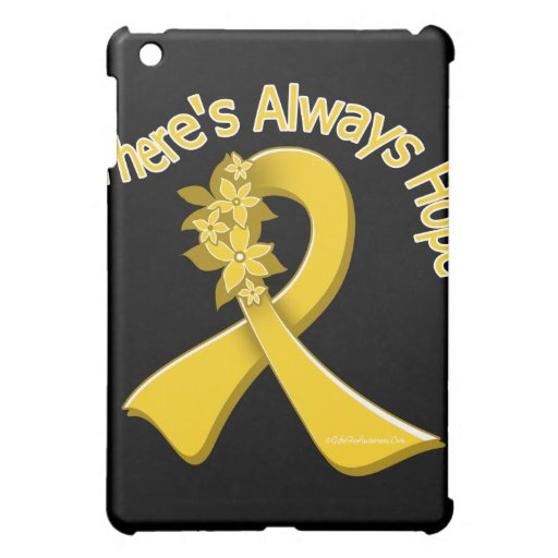 COPD There's Always Hope Floral iPad Mini Cases