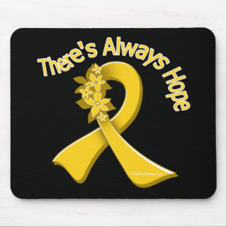 COPD There's Always Hope Floral Mouse Pad