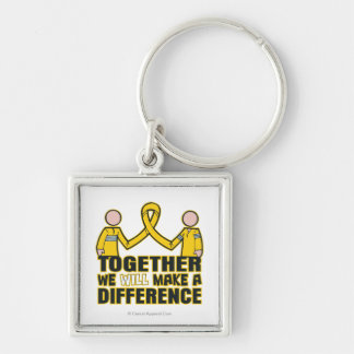 COPD Together We Will Make A Difference 2 Keychains