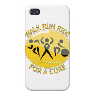 COPD Walk Run Ride For A Cure Cover For iPhone 4
