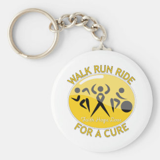 COPD Walk Run Ride For A Cure Key Chains