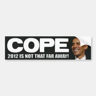 COPE - 2012 Election - Anti Obama Bumper Stickers