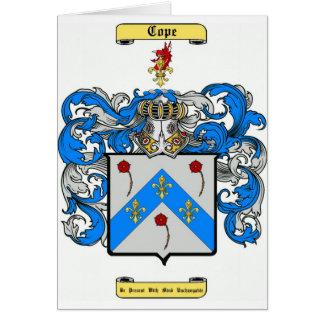 cope card