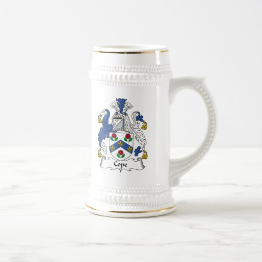 Cope Family Crest 18 Oz Beer Stein