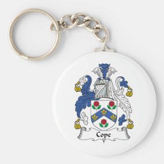 Cope Family Crest Basic Round Button Keychain