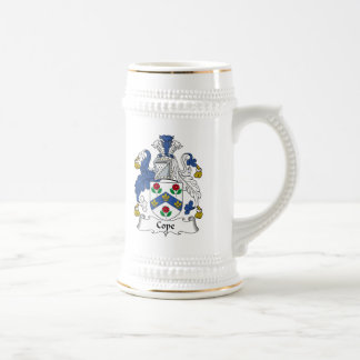 Cope Family Crest Beer Stein