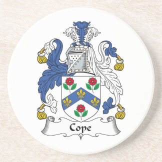 Cope Family Crest Drink Coasters