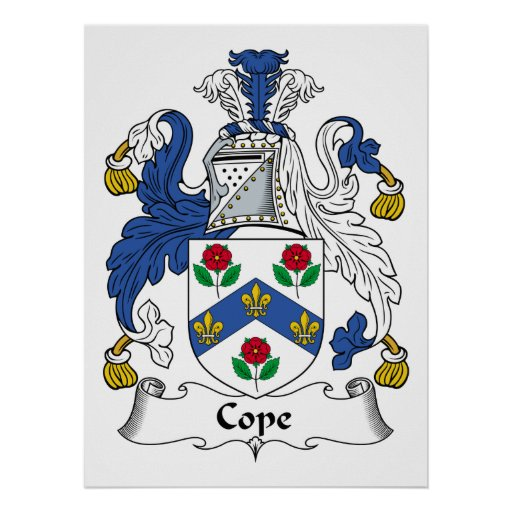 Cope Family Crest Posters