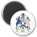Cope Family Crest Refrigerator Magnet