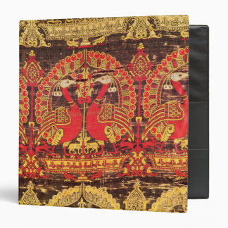 Cope with peacock motif and kufic inscription 3 ring binder