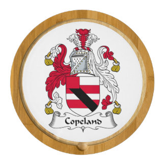Copeland Family Crest Cheese Platter