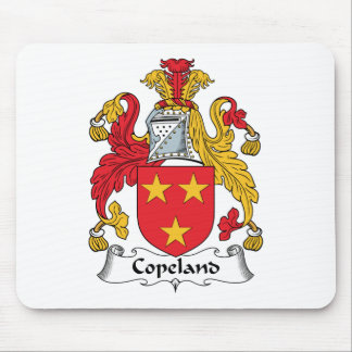 Copeland Family Crest Mouse Pad